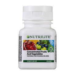 Nutrilite Concentrated Fruits and Vegetables - 60 tab