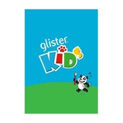 GLISTER Kids Sticker Book