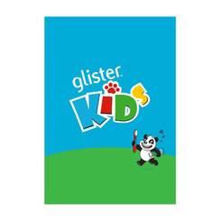 GLISTER Kids Sticker Book