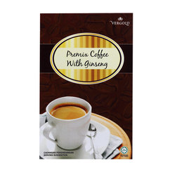 Vergold Ginseng Coffee - 20 sachets x20g