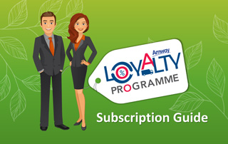 Amway Loyalty Programme (ALP) - Subscription Guide