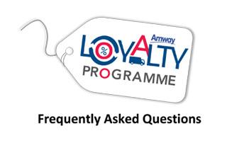 Amway Loyalty Programme (ALP) - FAQ