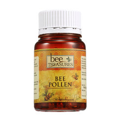 Bee Treasures Bee Pollen - 60 veg cap