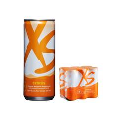XS Energy Drink Citrus - 1 pack of 6 cans