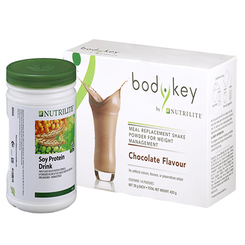 Nutrilite Soy Protein Drink and Bodykey by Nutrilite Meal Replacement Shake