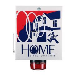 Home Alarm System 2 External Metal Siren Box
