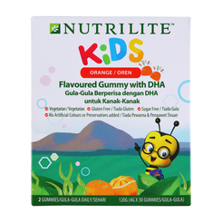 Nutrilite Kids Flavoured Gummy with DHA - 4g x 30 gummies
