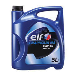 ELF Grapholia MS Diesel Engine Oil 15W40 - 5L