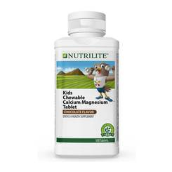 Nutrilite Kids Chewable Calcium Magnesium Tablet - 100 tab