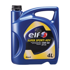 ELF Super Sporti ADV Engine Oil 15W50 - 4L
