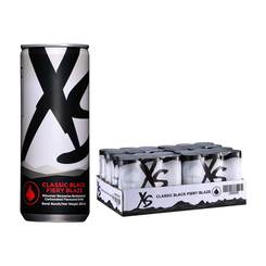 XS Classic Black Fiery Blaze - 4 Pack Of 6 Cans