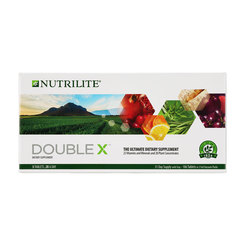 Nutrilite DOUBLE X Multivitamin/Multimineral/Concentrate (31-day supply)