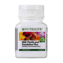 Nutrilite Milk Thistle and Dandelion Plus - 60 tab