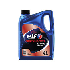 ELF Molygraphite Engine Oil 15W40 - 4L