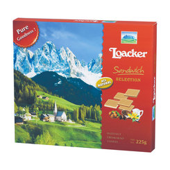 Loacker Sandwich Wafers - Assorted 225g